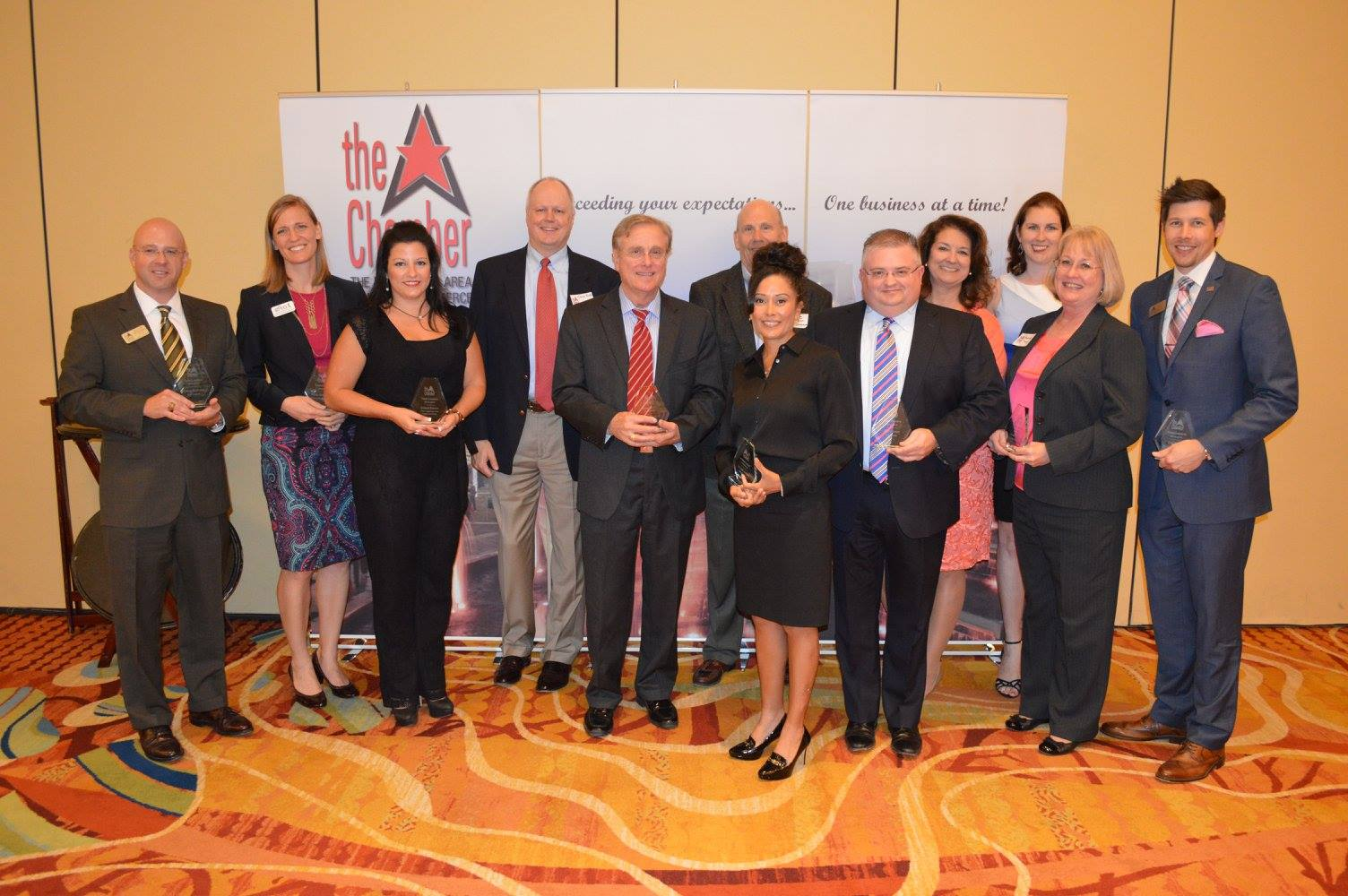 2015 Woodlands Chamber Award Luncheon