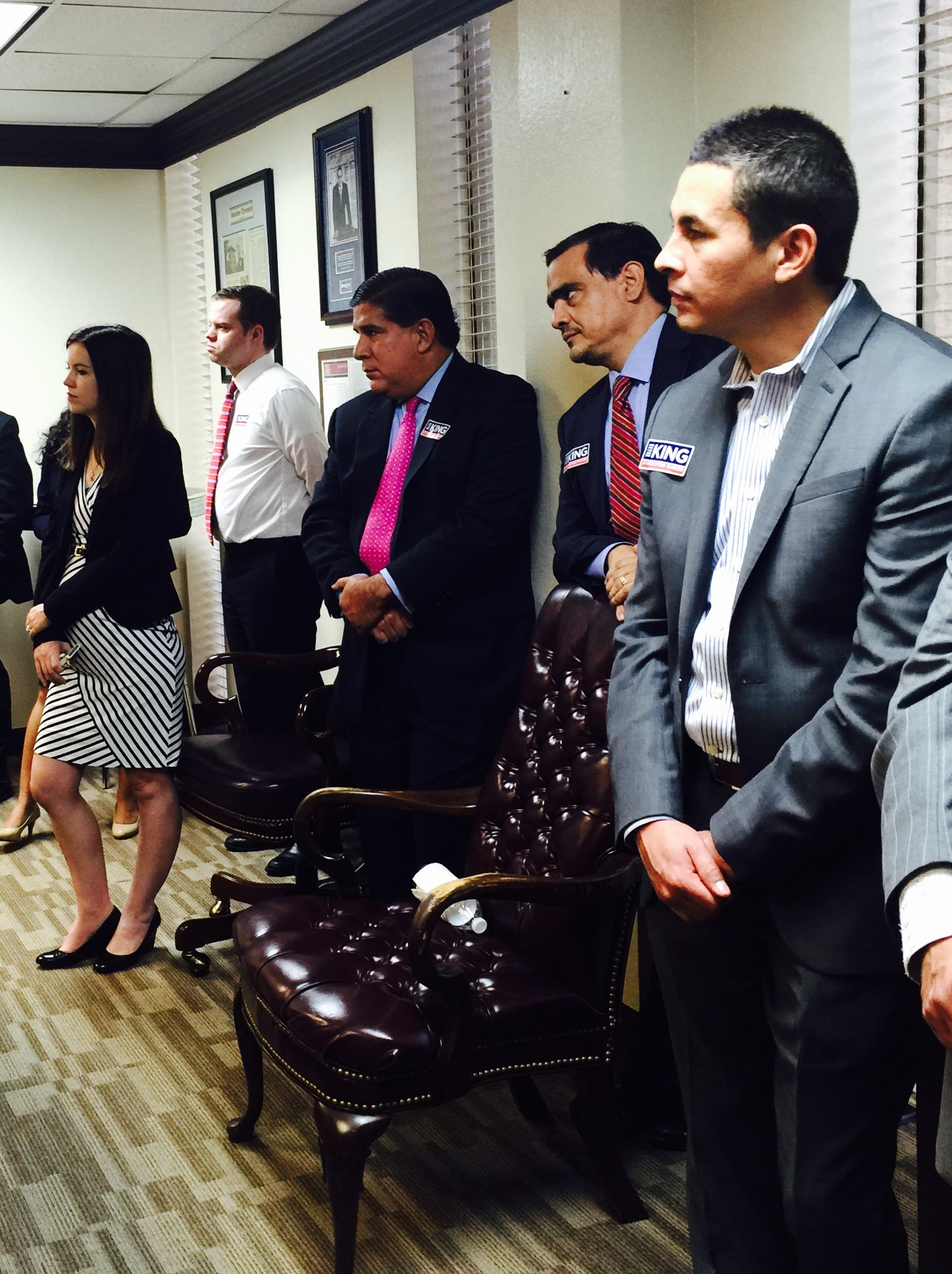 Melissa Rascon @ Fundraiser for Houston Mayoral Candidate Bill King