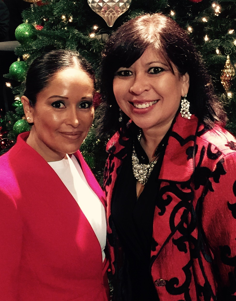 Melissa Rascon @ Holiday Networking Event for National Hispanic Professional Organization (NHPO)