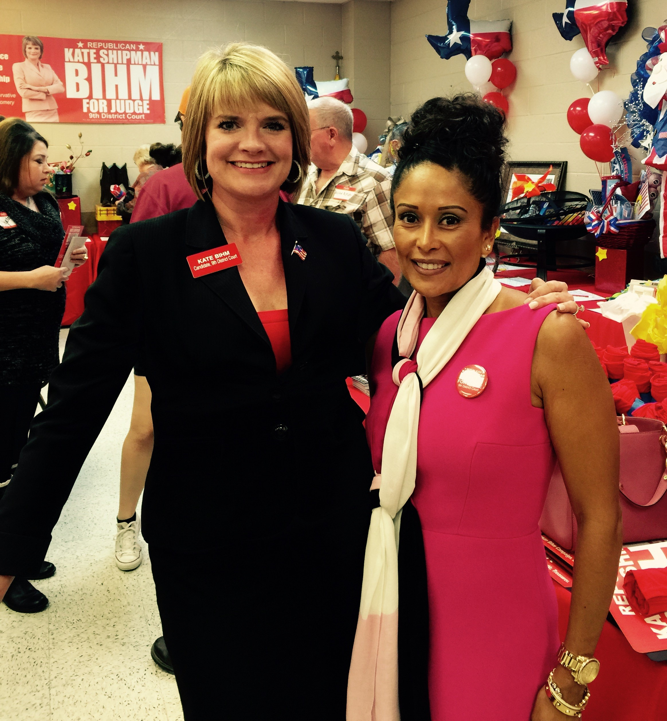 Melissa Rascon & Kate Shipman Bihm at her Campaign Fundraiser for Judge