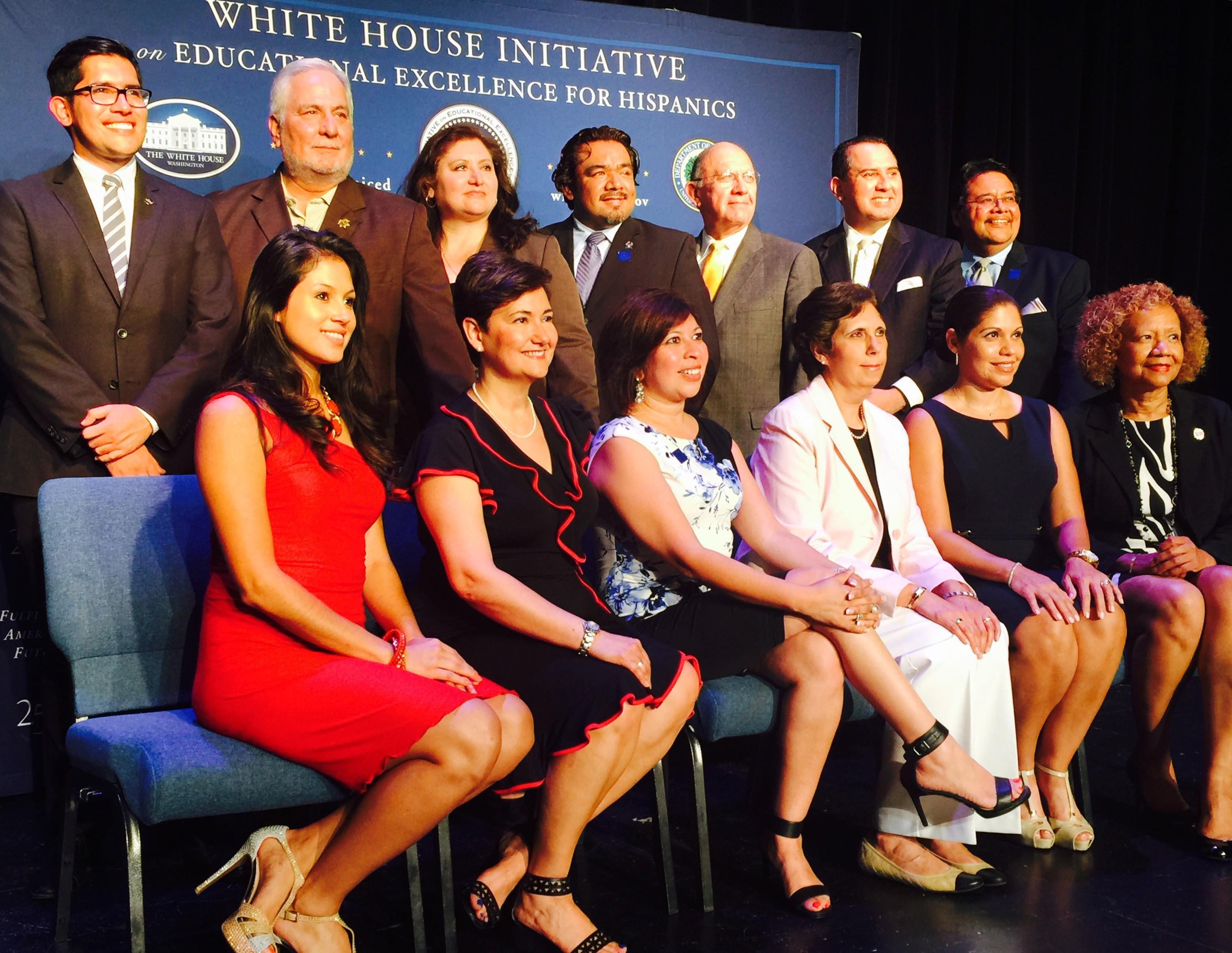 Melissa Rascon @ White House Initiatives on Education Excellence for Hispanics Ceremony